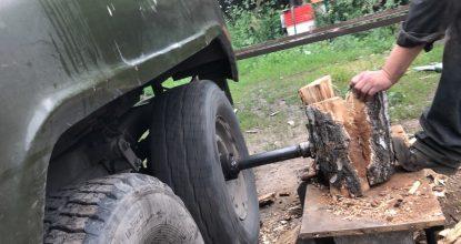 Автоматический колун для дров